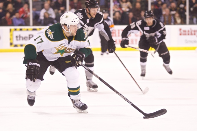 Chris Mueller could be an All-Star when the team is announced tomorrow. (Photo by Christina Shapiro/Texas Stars)