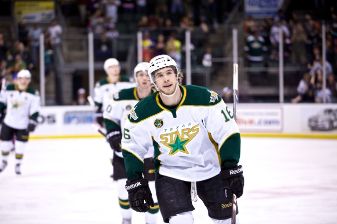 Curtis McKenzie has been named the AHL Rookie of the Year. (Christina Shapiro/Texas Stars)