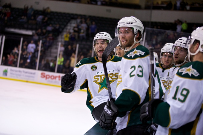 The Texas Stars are headed to the second round. (Photo by Christina Shapiro/Texas Stars)