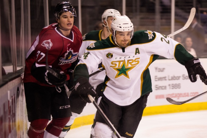 Cameron Gaunce is a restricted free agent. (Photo by Christina Shapiro/Texas Stars)