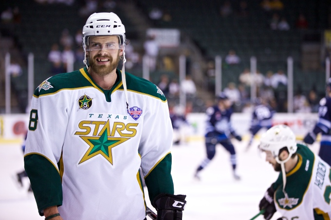Kevin Henderson is still property of the Nashville Predators. (Photo by Christina Shapiro/Texas Stars)