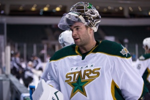 Jack Cambpell is looking to play more than 16 games this season. (Photo by Christina Shapiro/Texas Stars)