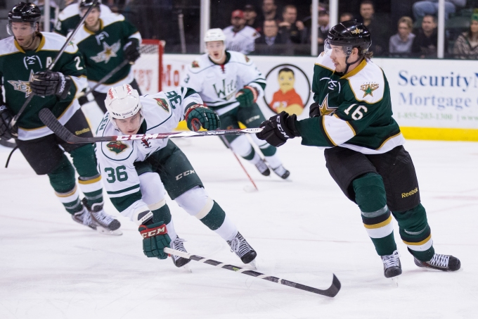 Curtis McKenzie made an instant impact in Saturday's victory. (Photo by Christina Shapiro/Texas Stars)