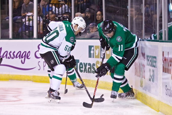 Victory green is coming to the Cedar Park Center after the sale of the Texas Stars was finalized. (Photo by Christina Shapiro/Texas Stars)