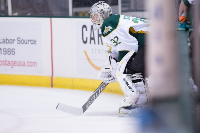 Henri Kiviaho has been reassigned to the Idaho Steelheads. (Photo by Christina Shapiro/Texas Stars)