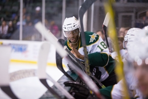 Maxime Fortunus will captain the Western Conference All-Stars last season. (Photo by Christina Shapiro/Texas Stars)
