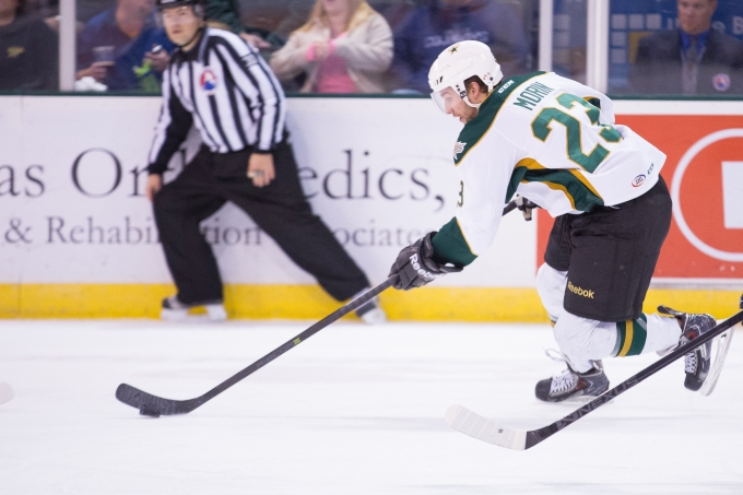 Travis Morin signed a two-year contract extension Friday. (Photo by Christina Shapiro/Texas Stars)