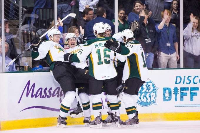 The Texas Stars are headed to the playoffs. (Photo by Christina Shapiro/Texas Stars)