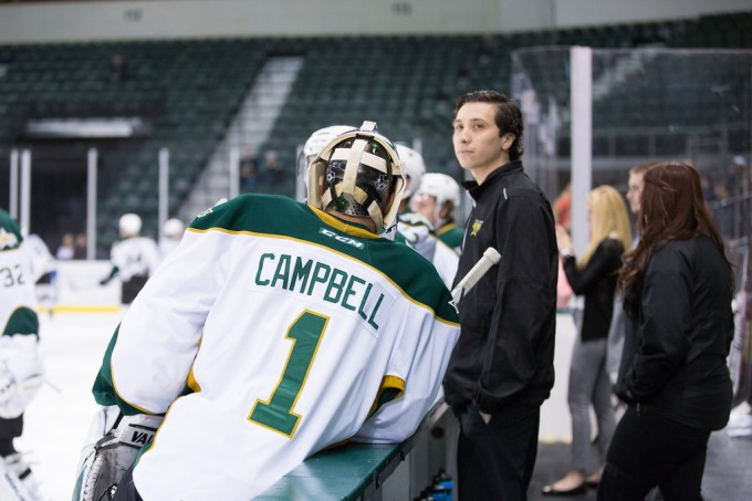 Jack Campbell has a chance to play more games with Jussi Rynnas' departure (Photo by Christina Shapiro/Texas Stars)