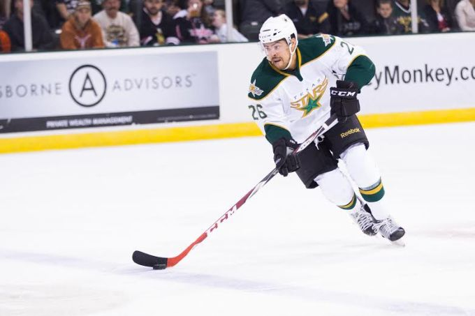 Matt Mangene will be a key cog in the Texas Stars defense next season. (Photo by Christina Shapiro/Texas Stars)