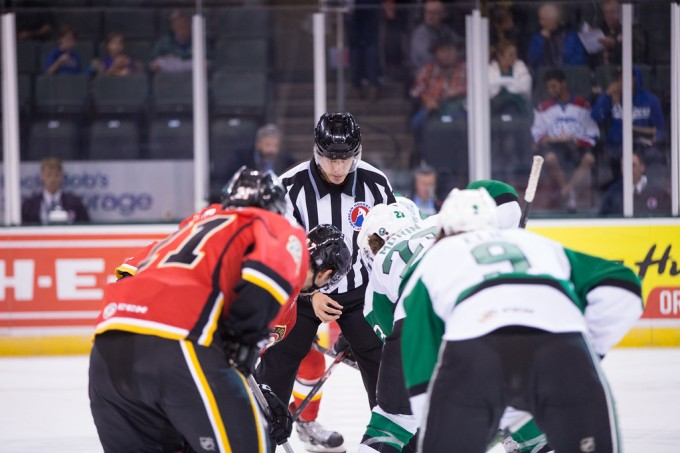 The Texas Stars and Stockton Heat will battle for the second time this season. (Photo by Christina Shapiro/Texas Stars)