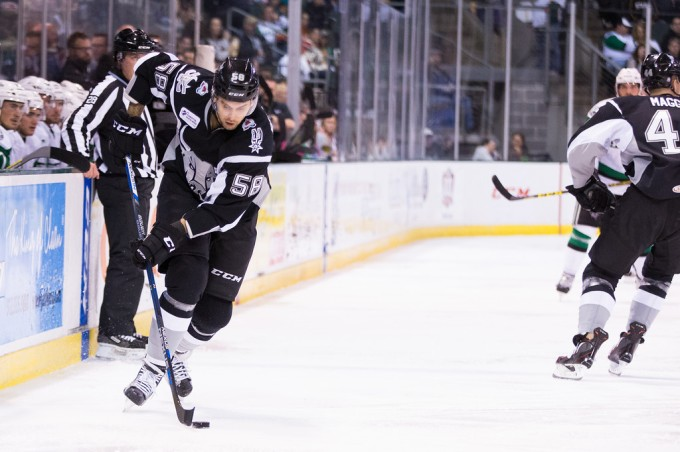 Patrick Bordelau has been suspended three games for boarding. (Photo by Christina Shapiro/Texas Stars)